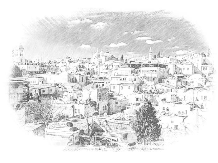 Деревня в Израиле