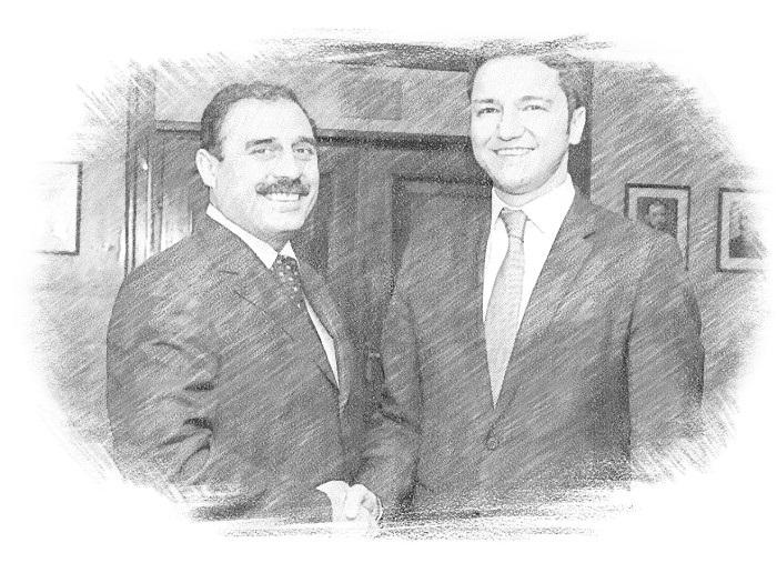 Дипломаты пожимают руки