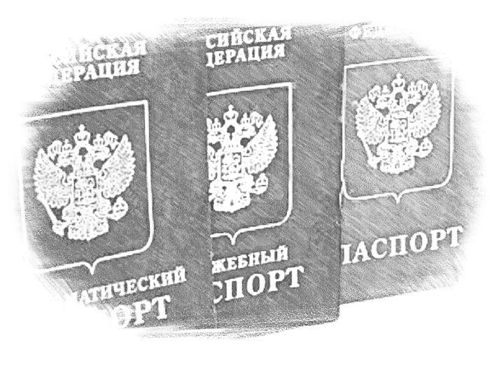 В дипломатическом паспорте указаны все данные, как и в обычном загранпаспорте