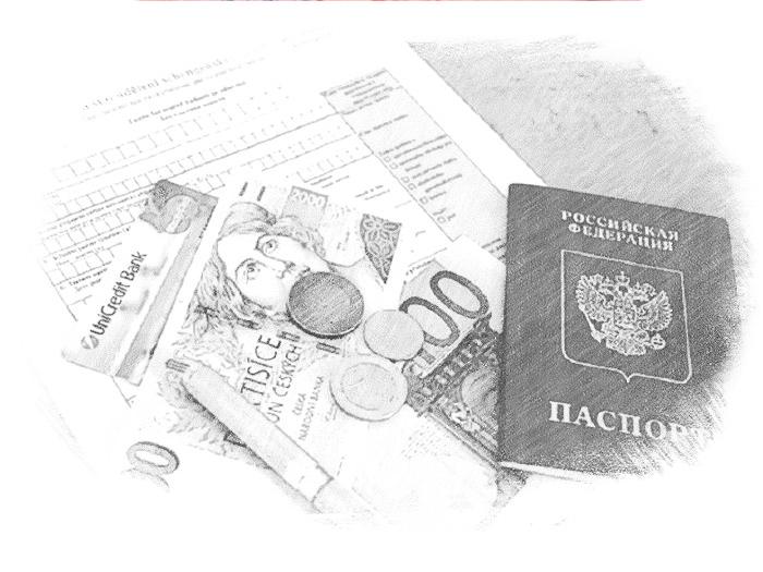 Документы и деньги для поездки в Швейцарию