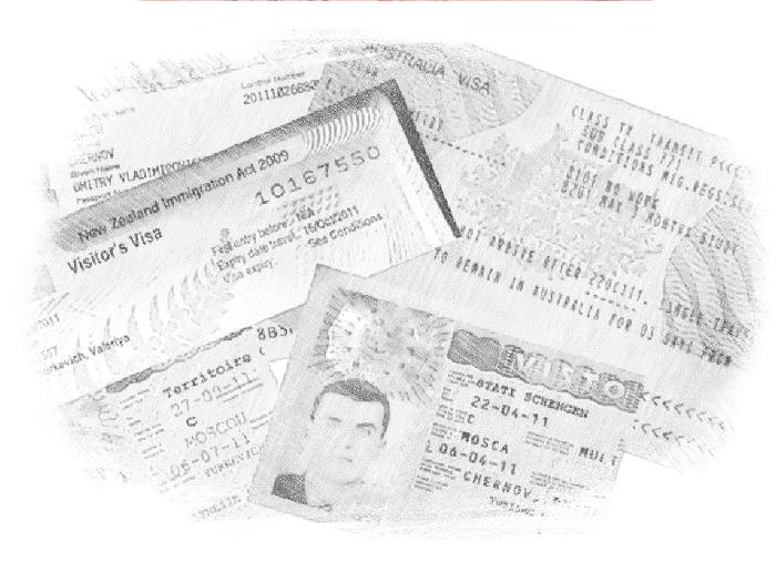 Документы для оформления виз