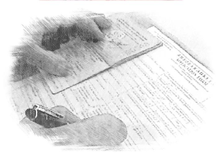 Оформление документов для получения визы
