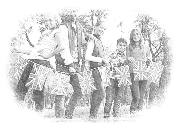 Английские школьники