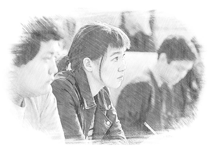 Студенты на экзамене