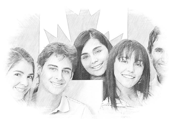 Студенты в Канаде