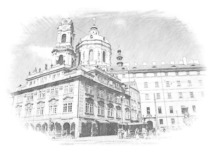 Здание в Чехии