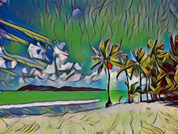 Пляж на Филлипинах