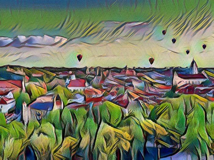Литовский город