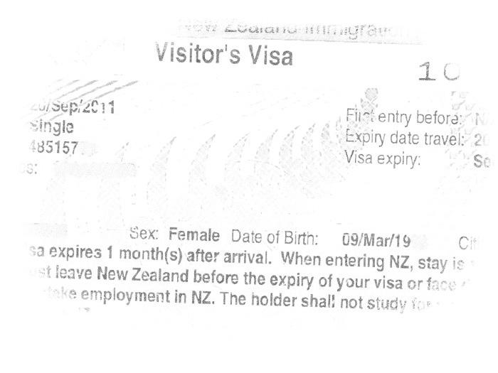 Виза в Новой Зеландии