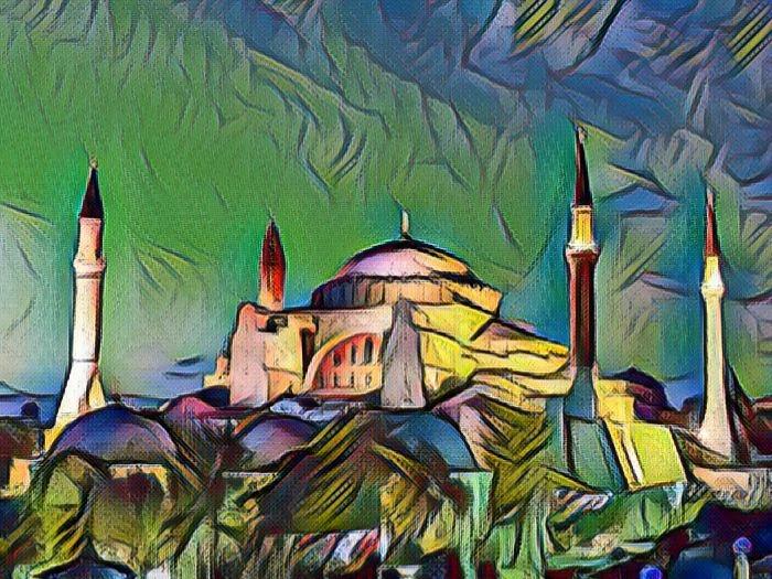 Турецкий город