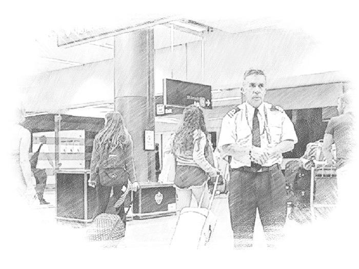 Аэропорт и таможня в Ирландии